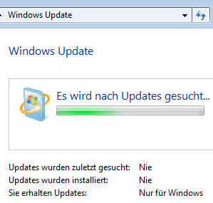 Windows-nach-Updates-Suchen