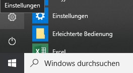 Windows Startbutton