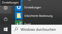 verhalten netzschalter windows 10
