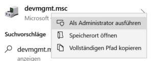 Windows 10 Gerätemanager